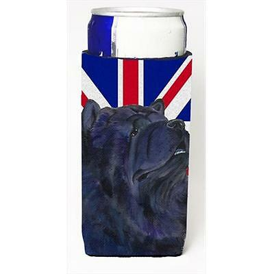 Chow Chow With English Union Jack British Flag Michelob Ultra bottle sleeves ...