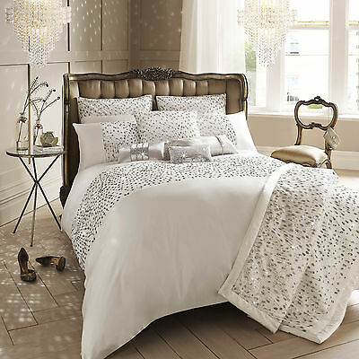 Kylie Minogue Bedding - EVA Oyster / Cream Duvet / Quilt Cover, Cushion or Throw