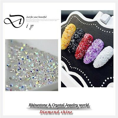 New Crystal Pixie For 3D Nail Micro 1.3-1.5mm Mini Nail Rhinestones Decoration D