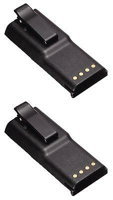 MOTOROLA GP300 GP88 GP600 HNN9628 1800MAH NIMH BATTERY PACK x 2