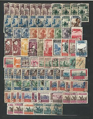 Spanish Morocco: Small lot of stamps used. SR06