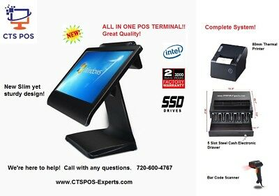 New! All In One Cornerstore Liquor / Retail POS System Point of Sale Complete!!