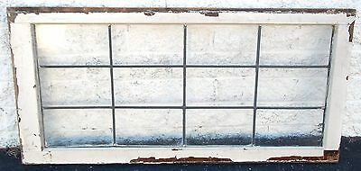 Transom Leaded Window Antique Vintage Old Art Deco English Glass
