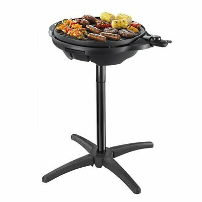 NEW GEORGE FOREMAN 22460 Electric Barbecue BBQ Grill Indoor Outdoor Garden Party