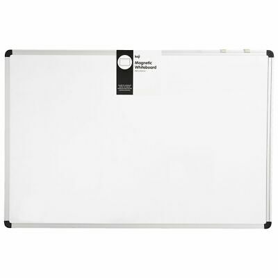 Keji Aluminium Magnetic Whiteboard & Accessories 900 x 600 mm