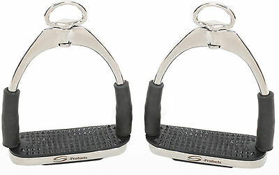 Ultimate Flexi Safety Bendy Stainless Steel Comfort English Stirrups