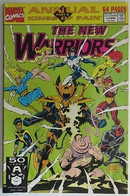 1991  The New Warriors Annual #1   -  Vg                       (Inv11772)