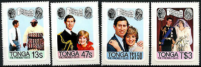 Tonga 1981 Royal Wedding MNH