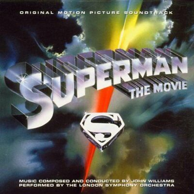 Superman The Movie Soundtrack Cd New Remastered & Reissued