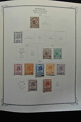 Lot 26220 Collection stamps of Somalia 1903-2000.