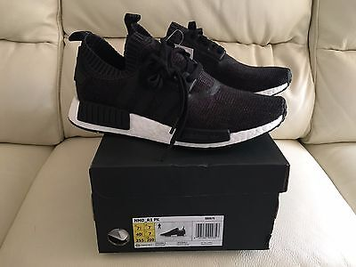 official photos 1ee17 af1c0 Adidas Nmd R1 Pk Primeknit Black Winter Wool All Sizes Uk 6 7 8 9 10