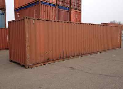 Used Shipping / Storage Containers for Sale 40ft HC WWT - $1400. Perth Amboy, NJ