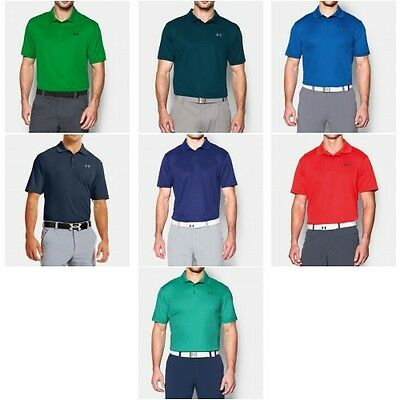 Under Armour Uomo 2016 Performance T-Shirt Polo Da Golf UA