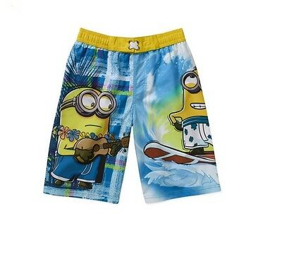 5313045486ae1 DESPICABLE ME MINION Beach Swim Shorts Trunks Little Boys 4 - $14.99 ...