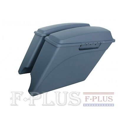 "4"" harley extended saddlebags stretched for 1993-2013 Harley Davidson touring"