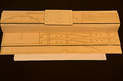 Giant 1/4 Scale SOPWITH TRIPLANE Laser Cut Short Kit & Plans 79.5 in. Wing span