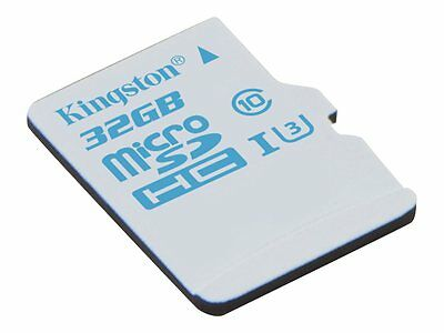 Kingston Flash memory card (microSDHC to SD adapter included) 32 GB UHS Class 3