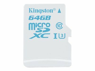 Kingston Flash memory card (microSDXC to SD adapter included) 64 GB UHS Class 3