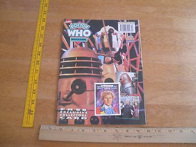 Doctor Who Magazine 1994 6th Doctor Marvel NO LABEL 30th anniversary