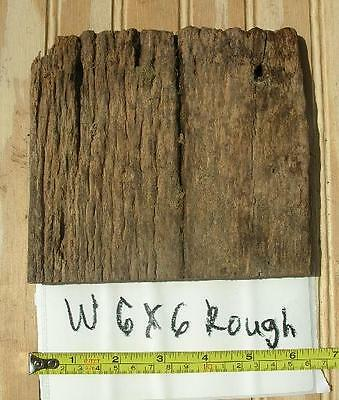 1 Antique Barnwood Board #W6x6Rough, Oak Wood Projects for Christmas Holidays