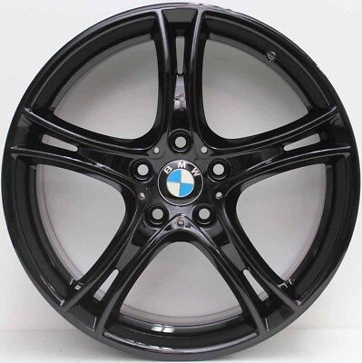 19 inch Genuine BMW 1 & 2 SERIES 2014 MODEL PERFORMANCE ALLOY WHEELS IN BLACK