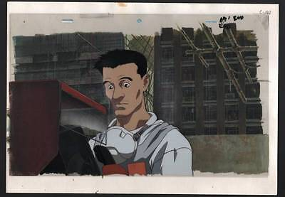 Ghost In The Shell Anime Cel w Background Hiromasa Ogura Masamune Shirow GRAIL