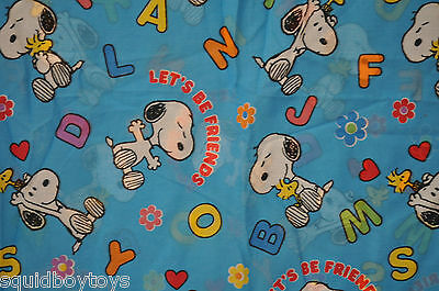 - PEANUTS GANG / SNOOPY Let's be Friends DUVET COVER -