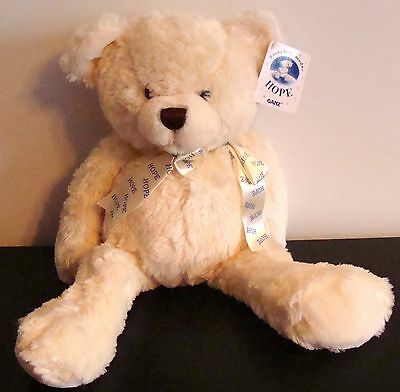 """New Ganz Hope Bear Large 18"""" Tall H10213 New With Tags"""