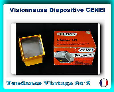 *** Visionneuse Diapositives - Cenei Scoper G1 / Piles Incluses ***