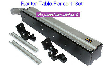 Precision Router Table Fence Routing System With 50mm Diameter Dust Tube