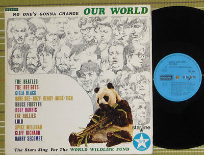 Various, No-Ones Gonna Change Our World /the Beatles/ Lp 1969 Uk Vg+/vg+ Lamina