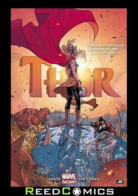 THOR BY JASON AARON AND RUSSELL DAUTERMAN VOLUME 1 DELUXE HARDCOVER New Harback