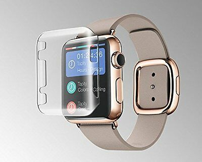 CLEAR CASE COVER Screen Protector Film Accessories For iWatch 42MM APPLE WATCH 1