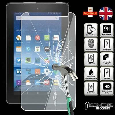 Tablet Tempered Glass Screen Protector For Amazon Kindle Fire 7 (5th Gen 2015)