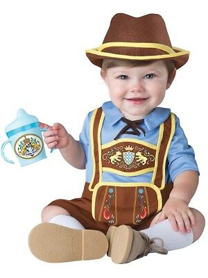 Little Lederhosen Oktoberfest German Child Baby Infant Costume NEW