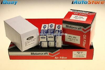 GENUINE Ford Falcon FG '08-'14 Service Kit Air Fuel Oil Filter Spark Plugs 6Cyl