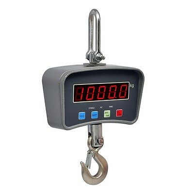 New 1 Ton Crane Scale Industrial Electronic Remote Control Hanging Hook Digital