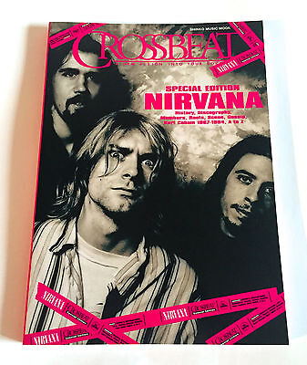 All about NIRVANA Crossbeat Special Edition JAPAN BOOK 2009 Kurt Cobain