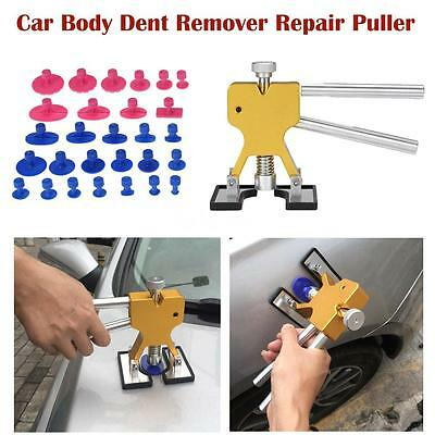 Auto Car Body Dent Remover Repair Puller Stainless Steel Kit 28x Tools Hot Sale