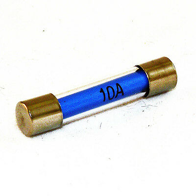 30mm Glass Fuse 10 Pack Choose your Amperage - 657-1xx