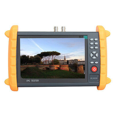 "7"" Touch Screen IP Dahua CVI HD Analog CCTV Camera Tester Monitor HDMI output"