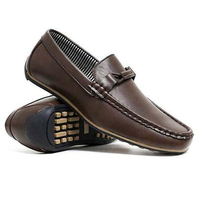 New Mens Lace Up Casual Deck Boat Mocassin Designer Loafers Driving Shoes Size