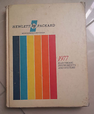 Hewlett Hp Packard 1977 Electronic Instruments And System