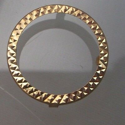 Half Sovereign 9ct Gold Insert for Mount/Ring in Lovely Condition