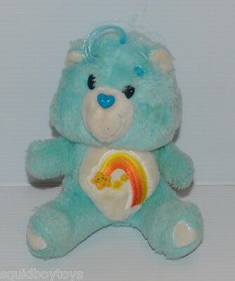 WISH BEAR Care Bears  vintage 6 inch CARE BEAR DOLL 1984 Kenner