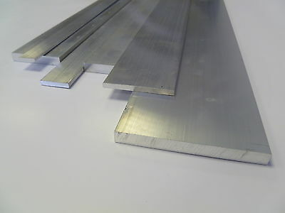 ALUMINIUM FLAT BAR PLATE -Various Sizes  20-100mm  0.5m-3.0m LONG