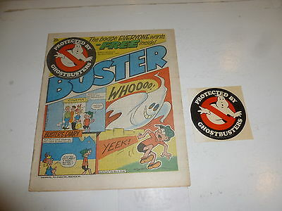 BUSTER with SCHOOL FUN Comic - Date 08/12/1984 - UK Paper comic (INC FREE GIFT)