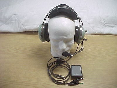 New David Clark General Aviation ANR Headset Active Noise Reduction GANANR76 XL