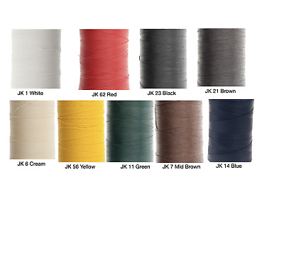 Ritza 25 Tiger Thread 1.2mm Wax Braided Polyester Leather Hand Sewing 25m/82ft