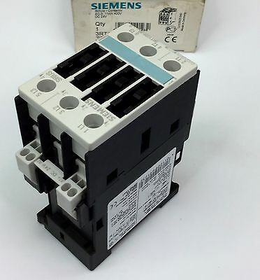 Siemens 3Rt1026-3Bb40 Contactor 3 Pole 400V 40A 24Vdc Coil New In Box